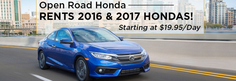 Open Road Honda Rental Center